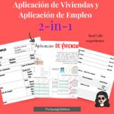 Solicitud de Empleo/ Job application in Spanish