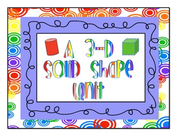 Solid 3D Shape Unit