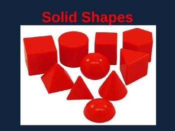 Solid 3D Shapes