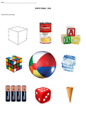 Solid 3D Shapes - Cubes