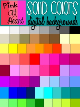 Solid Colors Backgrounds FREEBIE