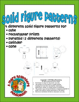 Solid Figure Patterns