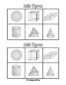 Solid Figures (3-D Shapes)