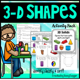 Solid Figures (3D Shapes) Activity Pack