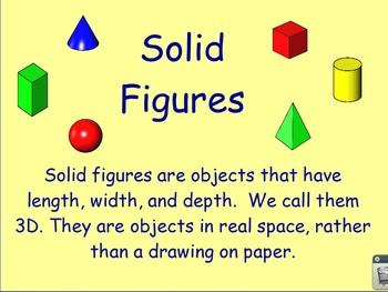 Solid Figures Flipchart