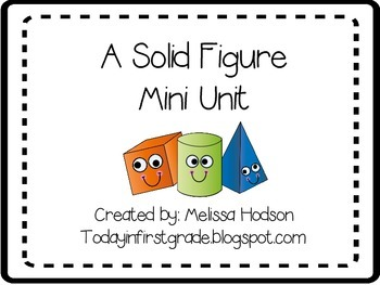 Solid Figures Mini Unit