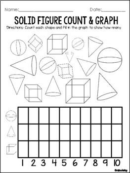 Solid Figures Printable Activities