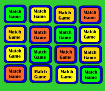 Solid Figures SmartBoard Matching Game