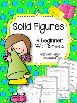 Solid Figures. Worksheets. Shapes.  Polygons. Cubes. Pyramid. Cylinder