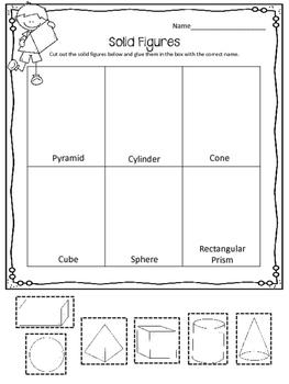 math worksheet : figures worksheets shapes polygons cubes pyramid cylinder : Solid Figures Worksheets
