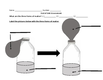 Solid, Liquid, Gas Assessment