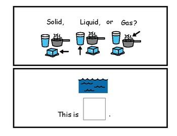 Solid Liquid Gas Book