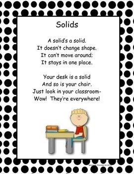 Solid, Liquid, Gas Poems