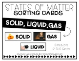 Solid Liquid Gas Sort