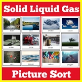 Solid Liquid Gas   States of Matter   1st 2nd 3rd 4th Grade   Science Activity