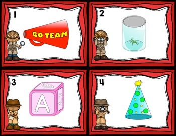 Solid Real World Object Shape Identification Task Cards
