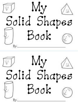 Solid Shape Mini-Book