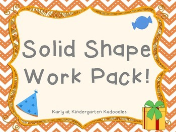 Solid Shape Work Pack