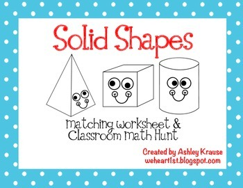 Solid Shapes - 1st Grade