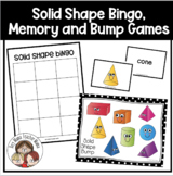 Solid Shapes (3D) Bingo