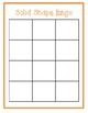 Solid Shapes (3D) Bingo