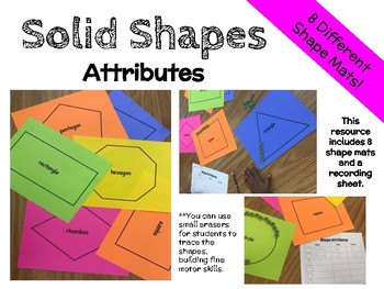 Solid Shapes Attributes