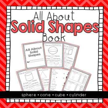 Solid Shapes Book { K.G.4 }