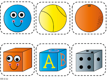 Solid Shapes Booklet, Pocket Chart Cards, and Cut and Paste Activities