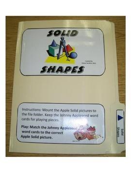 Solid Shapes: File Folder