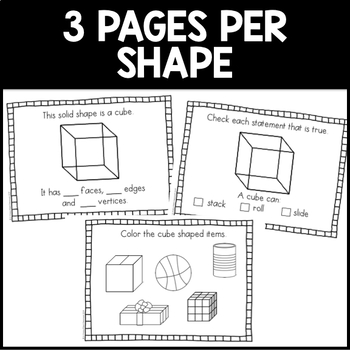 Solid Shapes Mini-Book