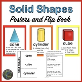 Solid Shapes Posters and Flip Book