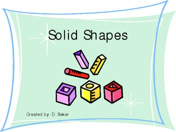 Solid Shapes Power Point Presentation