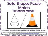 Solid Shapes Puzzles 3D