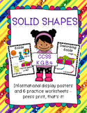 Solid Shapes for Kindergarten Learners