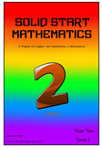 Solid Start Mathematics: Year Two, Term One