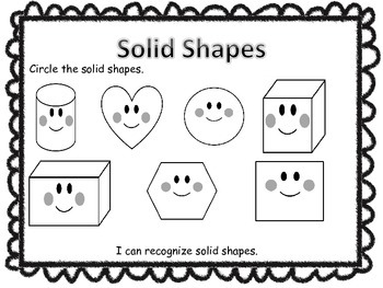 Solid and Flat Shape Recognition