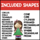 Solid and Geometric Shapes Interactive Mini Books {Bundle}