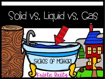 Solid,Liquid,Gas {States of Matter}