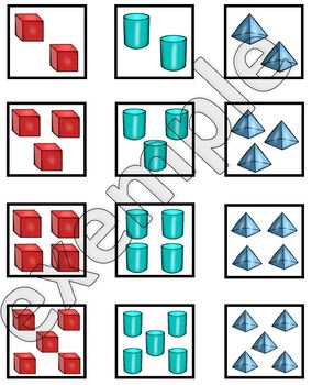 Solides: tableau à double entrée