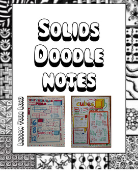 Solids Doodle Notes