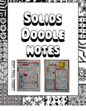Solids Doodle Notes