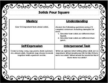 Solids Four Square