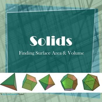 Solids Graphic Organizer Bundle