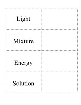 Solids, Liquid, and Gases along with Energy