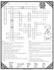 Solids Liquids Gases Crossword
