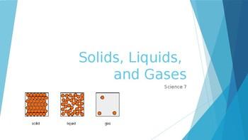 Solids, Liquids, Gases PPT notes