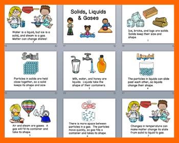 Solids, Liquids, Gases POWERPOINT