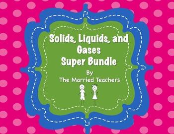 Solids, Liquids, Gases Super Interactive Foldables and Activities Bundle