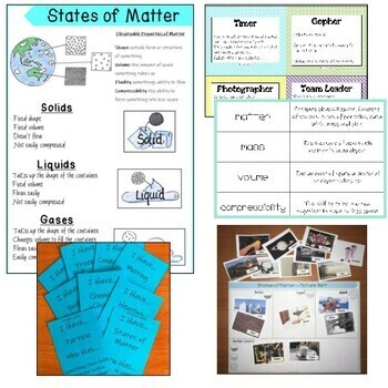Solids, Liquids & Gases. Information Texts. Differentiated. PACKET