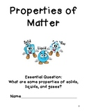 Solids, Liquids, and Gas- A Unit on Matter